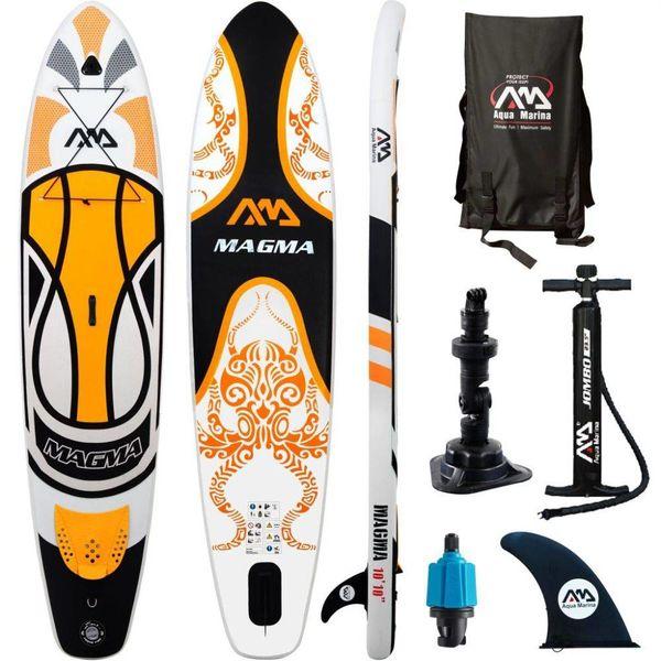 SUP board Magma oranje 330x75x15 cm