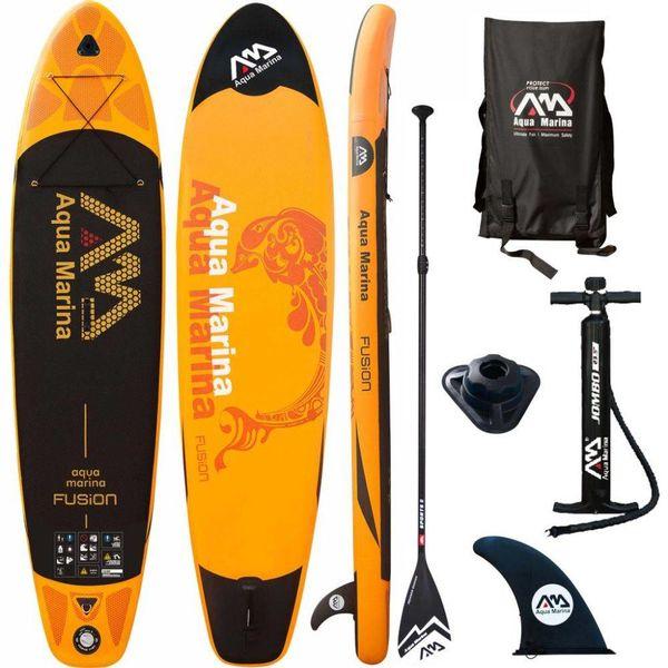 SUP board Fusion oranje 330x75x15 cm