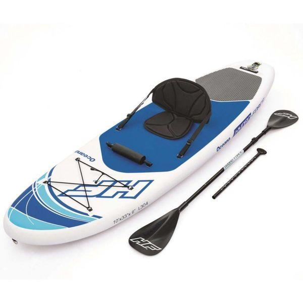 Paddle board opblaasbaar Hydro Force 305x84x15 cm 65069