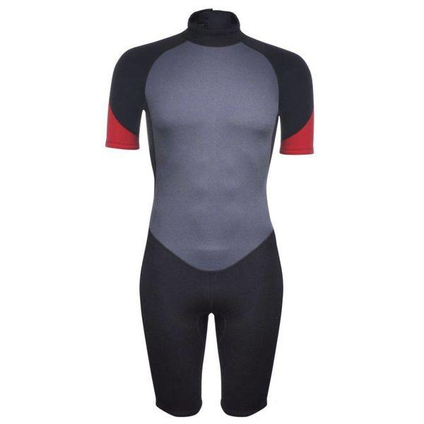 Heren wetsuit shorty 180-185 cm (maat XL) 2,5 mm