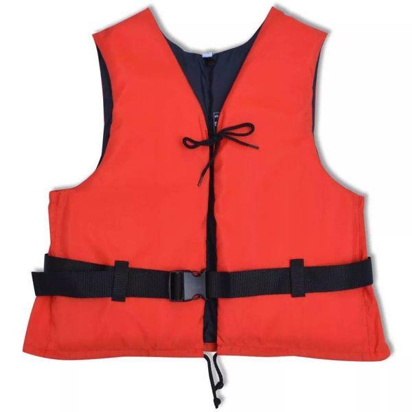 Zwemvest 50 N 90+ kg rood