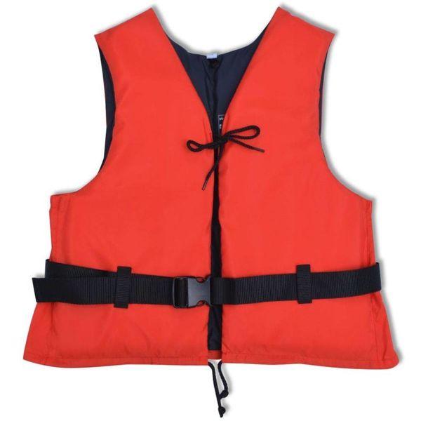 Zwemvest 50 N 50-70 kg rood