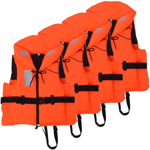 Zwemvesten 100 N 30-40 kg 4 stuks