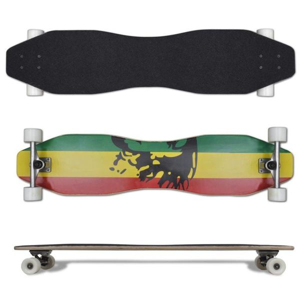 Longboard Jamaica (8-vormig / 104 cm)