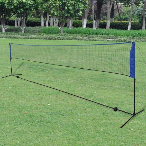 Badmintonnet met shuttles 600 x 155 cm