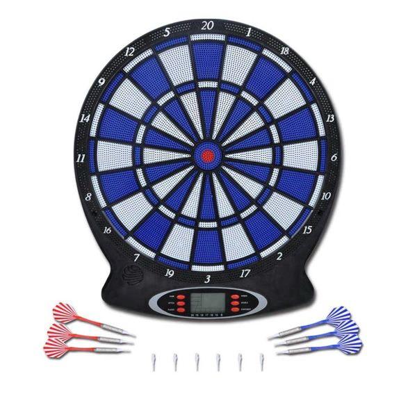 Elektronisch dartboard met soft-tip darts