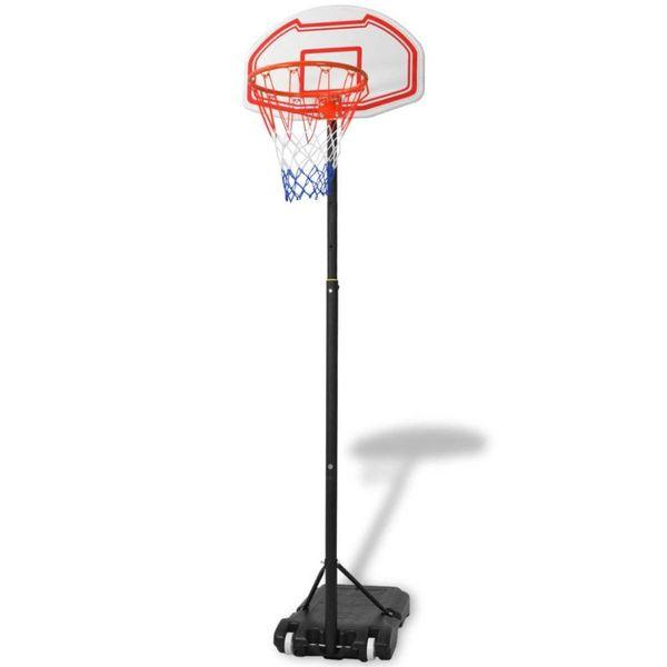 Verplaatsbare basketbalring 210 cm