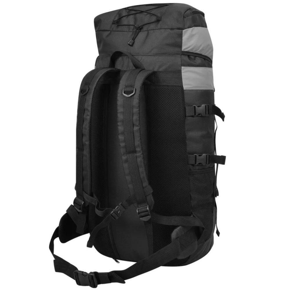 0fb249bccab vidaXL Backpack met regenhoes XXL 75 L zwart - Voordeeltrends