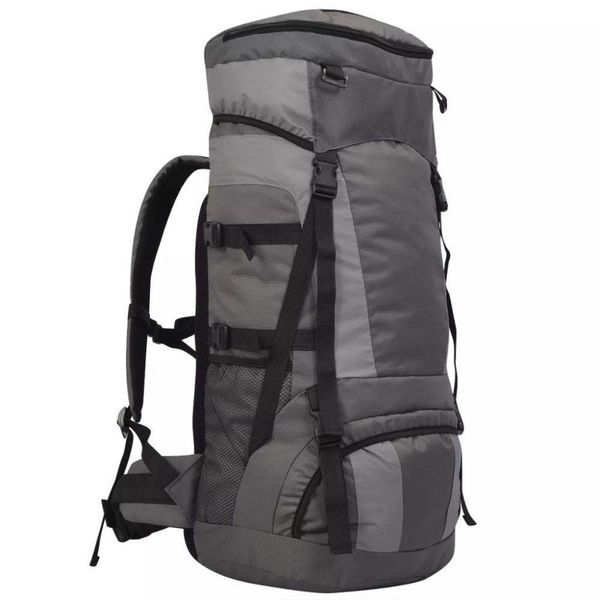 Backpack met regenhoes XXL 75 L antraciet
