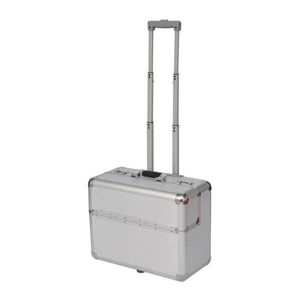 Pilotenkoffer aluminium trolley