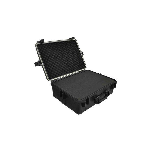 Hardcase transportkoffer met schuimvulling zwart