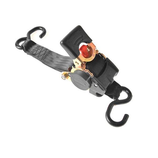 spanband met ratel, 180cm, 750kg, automatisch oprolbaar