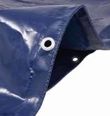 vidaXL Dekzeil 650 g/m² 3x6 m blauw