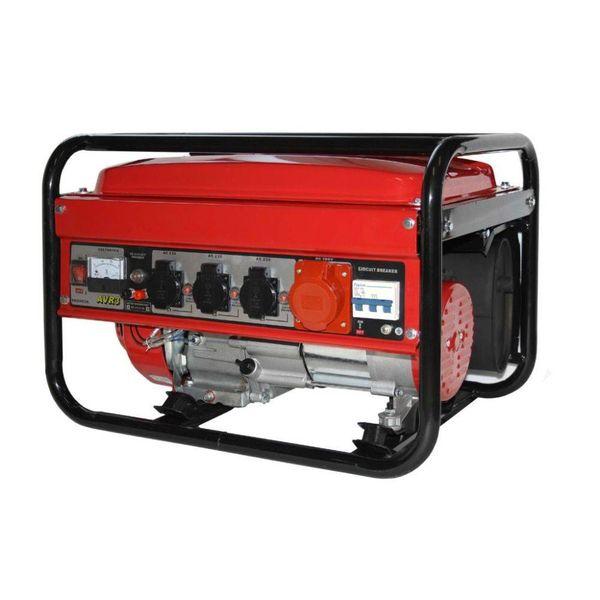 Benzine generator 12 - 230 - 380 volt