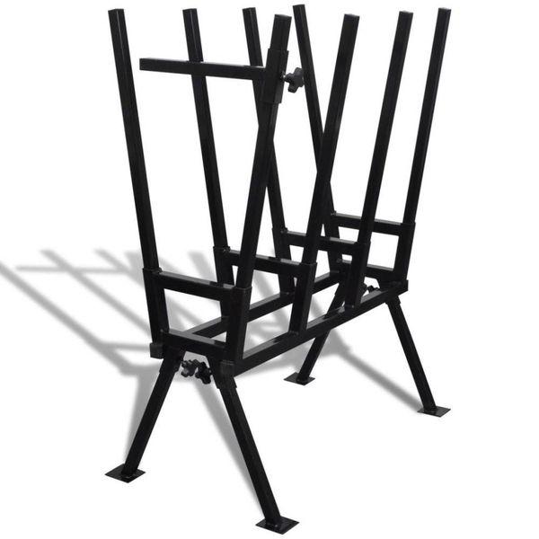 Zaagbok (Zwart)