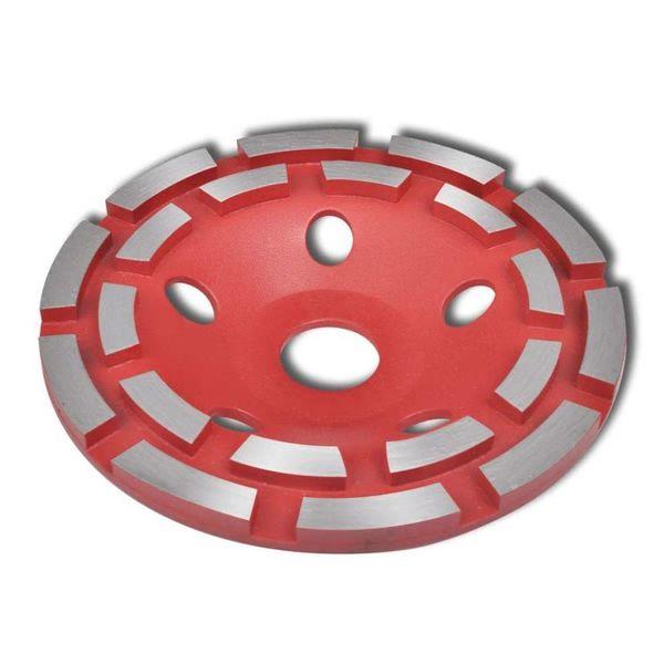 Schuurschijf met diamantkop 125 mm