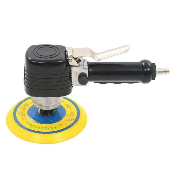 Pneumatische vlakschuurmachine met handvat 150 mm