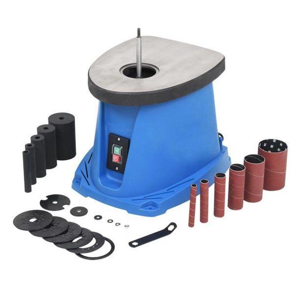 Spilschuurmachine oscillerend 450 W blauw