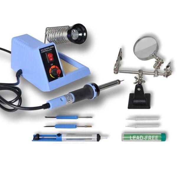 Soldeerstation analoog met accessoires 48 W