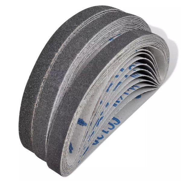 Luchtdruk/pneumatische schuurbanden 30 st