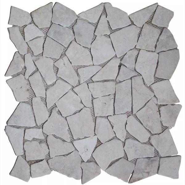 Mozaïek tegels 11 stuks marmer goud 1 m²