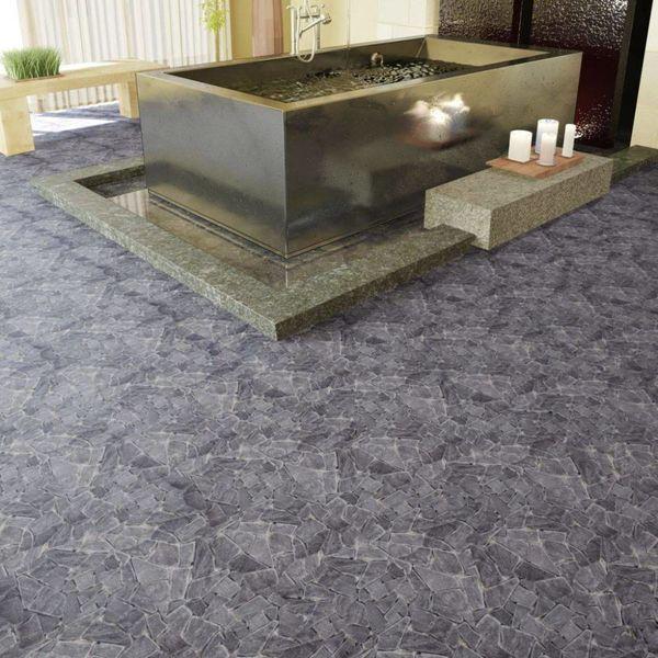 Stenen mozaïek tegels zwart marmer 0,9 m2