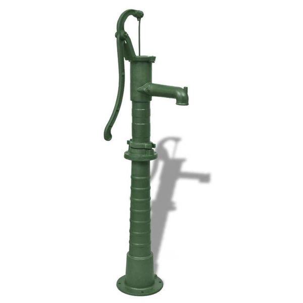 Tuinwaterpomp met standaard gietijzer
