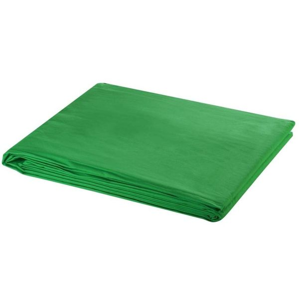 Achtergrond chromakey 500x300 cm katoen groen