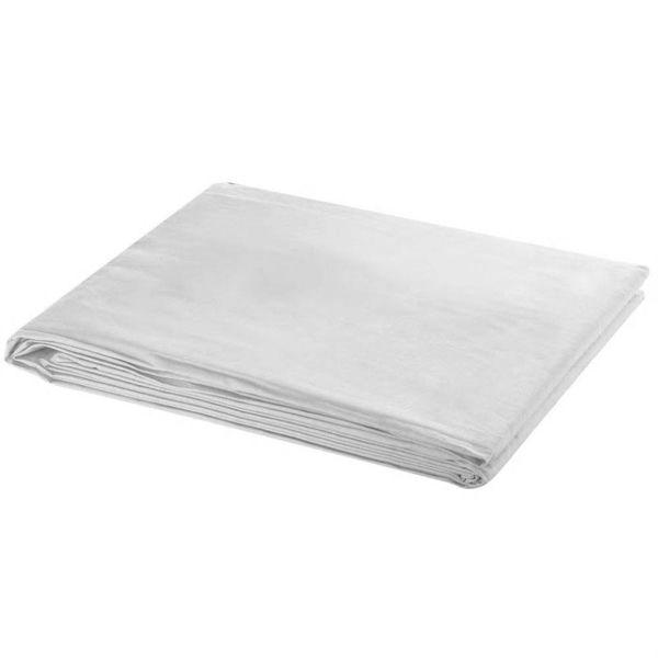 Achtergrond 300x300 cm katoen wit