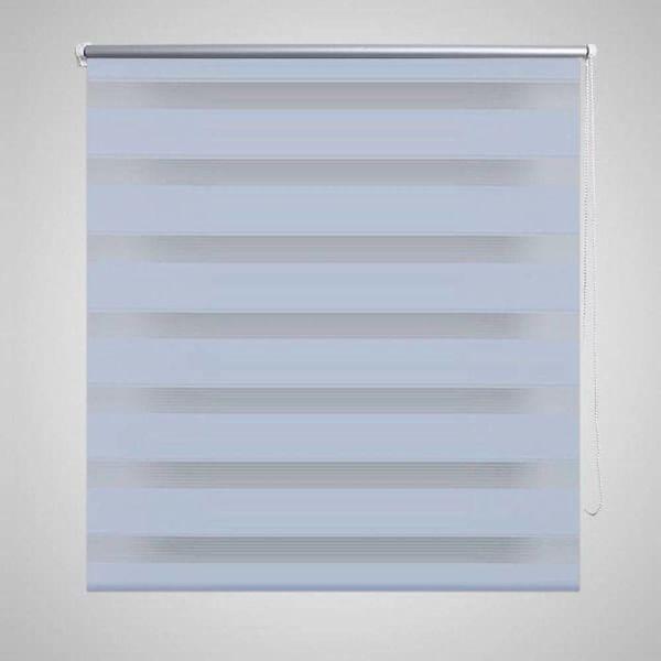 Duo rolgordijn 120 x 230 cm wit