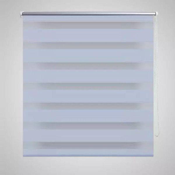 Duo rolgordijn 100 x 175 cm wit