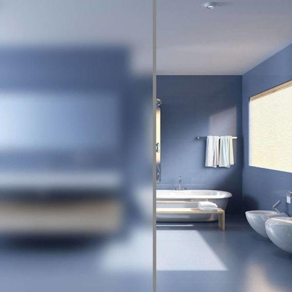 Privacyfolie mat melkglas zelfklevend 0,9x20 m