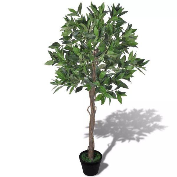 Kunst laurierboom met pot 120 cm