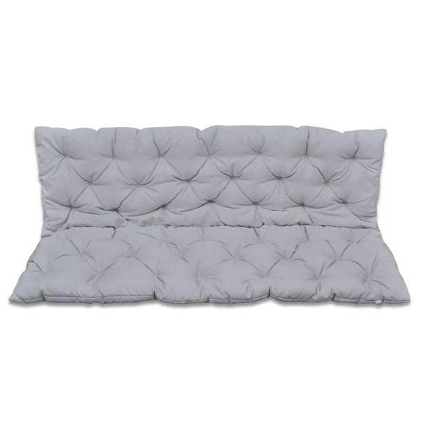Kussen voor schommelstoel 150 cm (grijs)