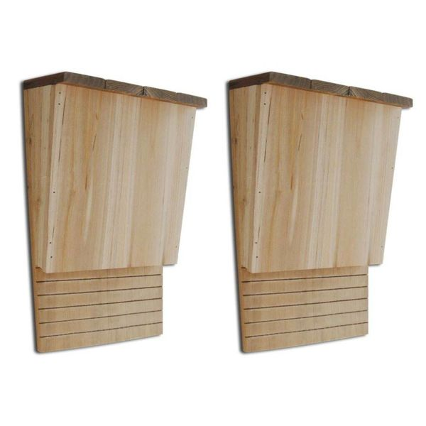 Vleermuiskast 22 x 12 x 34 cm (set van 2)