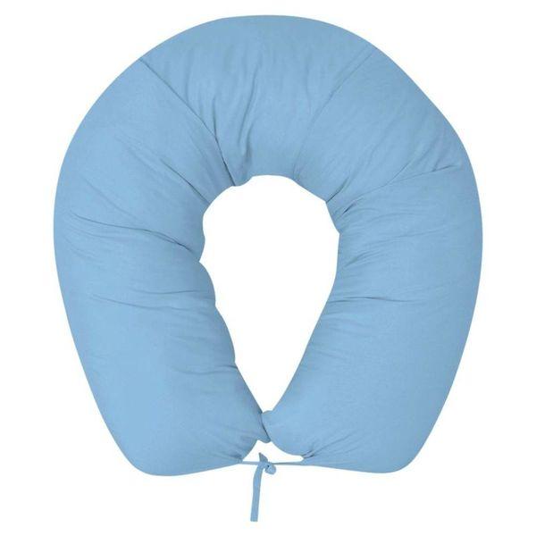 Zwangerschapskussen 40x170 cm lichtblauw