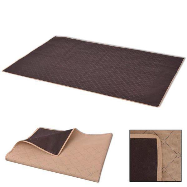 Picknickkleed 100x150 cm beige en bruin