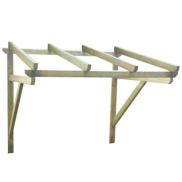 Deurluifel 200x150x160 cm FSC hout