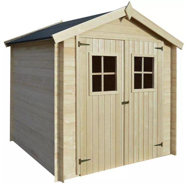 Tuinhuis 2x2 m 19 mm hout