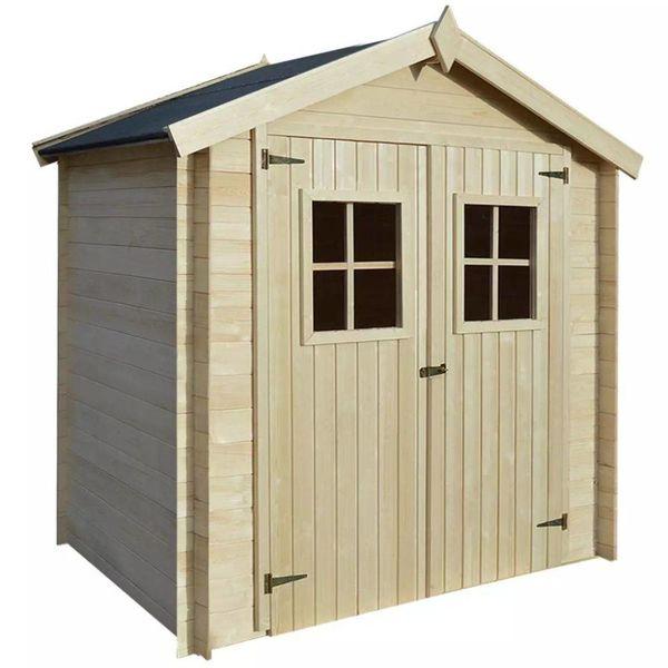 Tuinhuis 2x1,5 m 19 mm hout