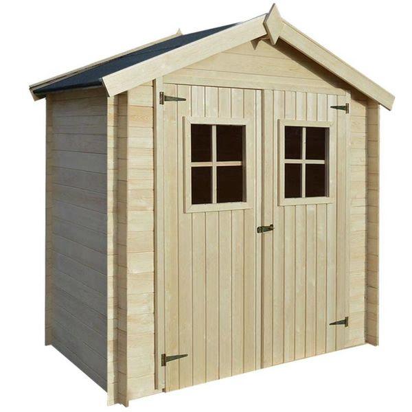 Tuinhuis 2x1 m 19 mm hout