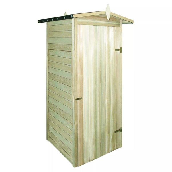 Tuinhuis 100x100x210 cm FSC geïmpregneerd grenenhout
