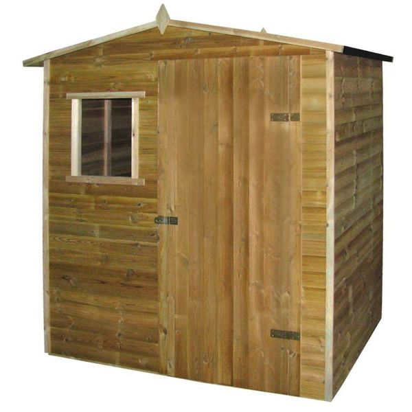 Tuinhuis 1,5x2 m FSC geïmpregneerd grenenhout