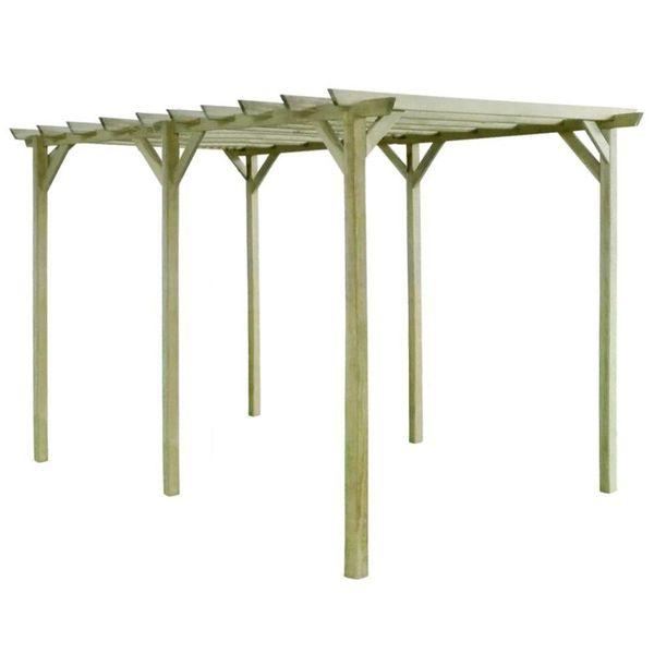 Pergola 4x2x2 m FSC geïmpregneerd grenenhout