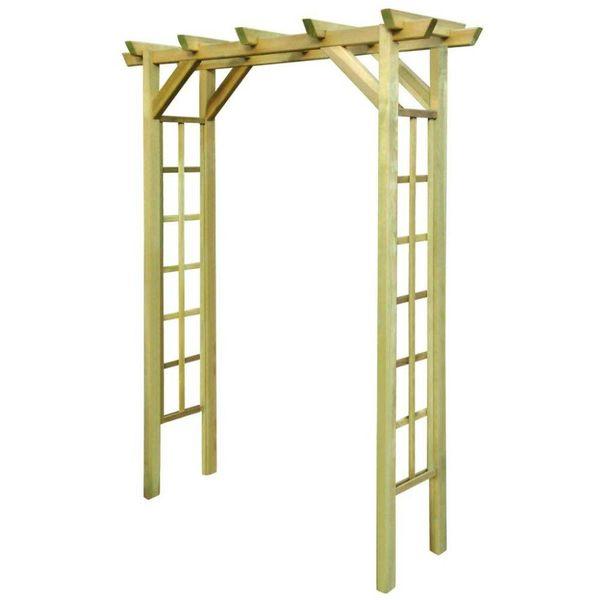 Rozenboog 150x50x200 cm FSC geïmpregneerd hout