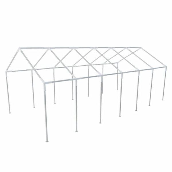 Stalen frame voor een party tent 12 x 6 m