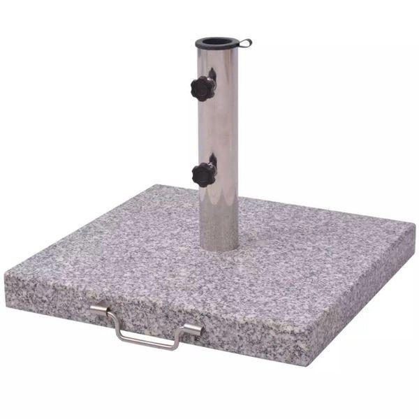 Parasolvoet Graniet 30 kg vierkant