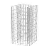 vidaXL Gabion plantenbak staal 50x50x100 cm