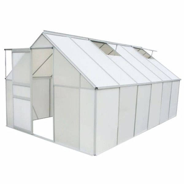 Broeikas polycarbonaat en aluminium 430x250x195 cm