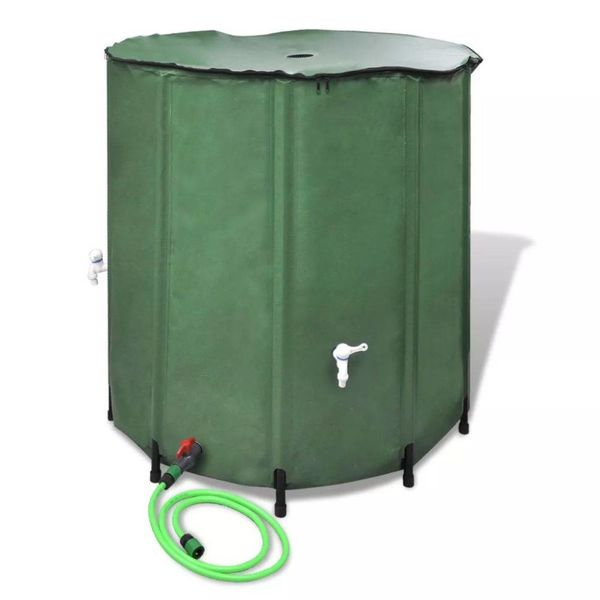 Inklapbare Watertank 250L (Groen)